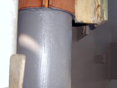 Belzona 5851 (HA-Barrier) se nanosi na vruće cevovode