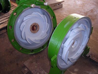 Popravka pumpi i poboljšanje efikasnosti korišćenjem Belzona 1341 (Supermetalglide)