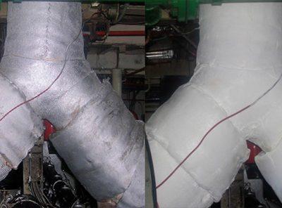 Zaštićena izolacija HVAC kanala