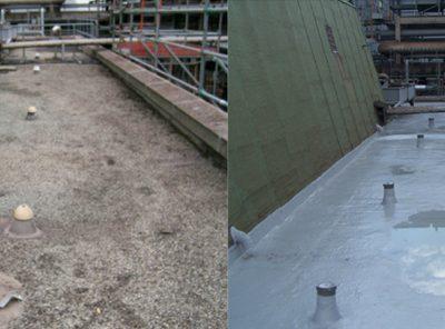 Zaptivana bljeskalica na sučelju krov-zid